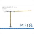 Liebherr EC-B 370 Fibre Flat top Kran