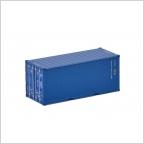 20 Ft Container Premium Line blau