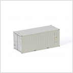 20 FT Container White Line