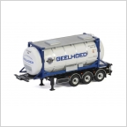 20 Ft Tank Container 3 axle  Geelhoed