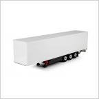 Box semitrailer 3 axle T.B.