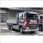 DAF XF CC  Hooklift Container 15M3  Böckl