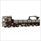 DAF XF SSC Brick Trailer   M. Way
