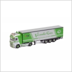 DAF XF SSC Curtainside  Vervaeke Koen Transport