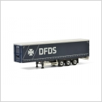 DFDS Copenhagen Curtain side Tautliner Trailer Premium Line