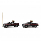 Ford F250 Pickup Truck Escort Set  Mammoet