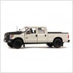 Ford F250 XLT Cabin Crew 6 Bed white black