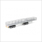 Freighter B Double Flat Top Set White