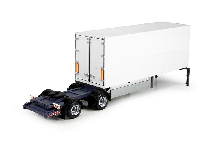 2 achs city slider trailer
