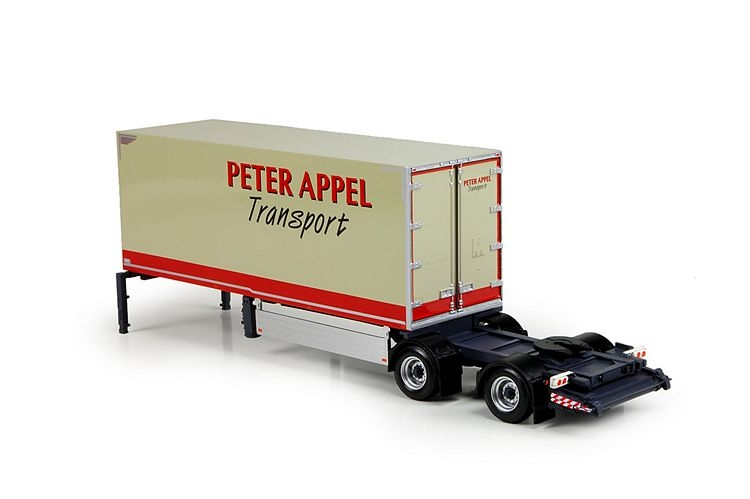2 achs city slider trailer Appel Peter