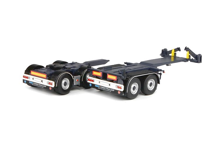 2 axle 20ft combitrailer dolly T.B.