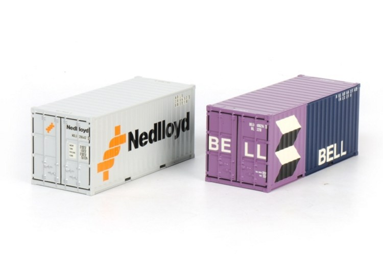 2 x 20ft Containers Bell und Nedlloyd