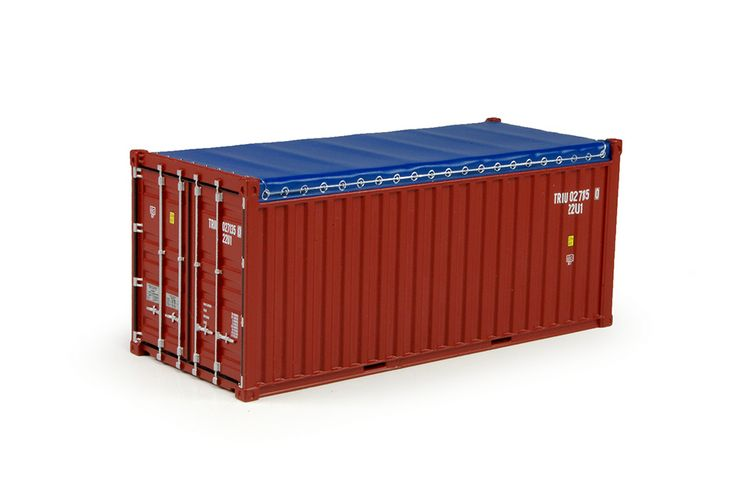 20 Ft Open top rental container