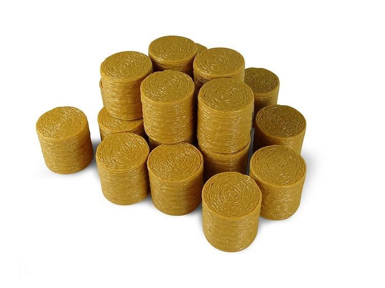 20 Round hay bales