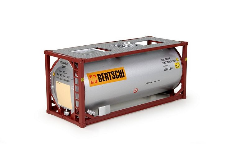 20ft. ISO tankcontainer Bertschi