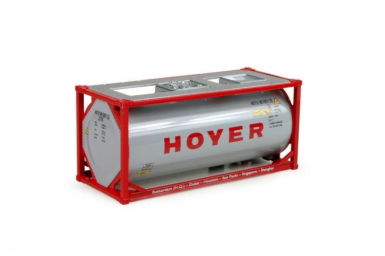 20ft. Iso tankcontainer Hoyer