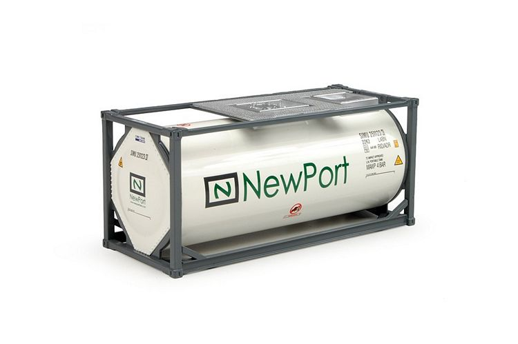 20ft ISO tankcontainer Newport