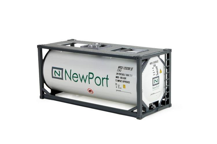 20ft Iso Tankcontainer Newport V2