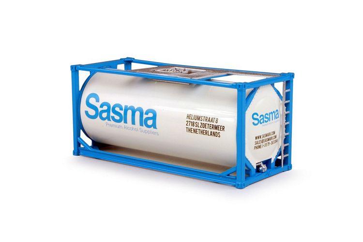 20ft ISO tankcontainer Sasma