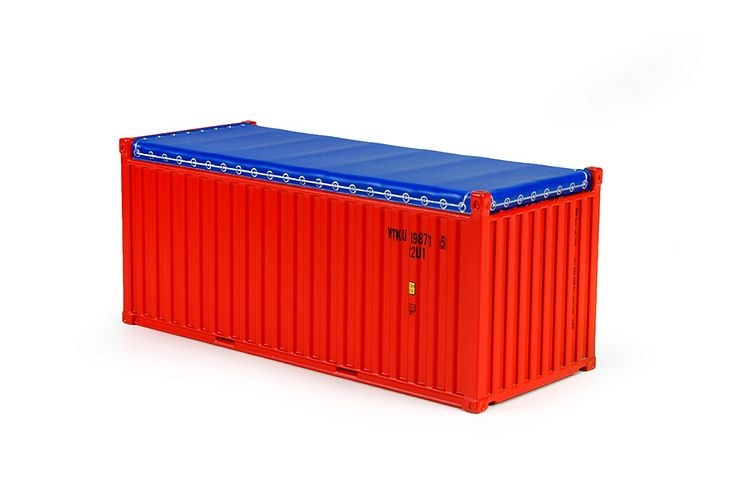 20ft open top rental container