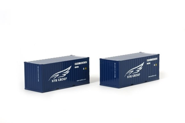 2x 20 FT Container NYK Group