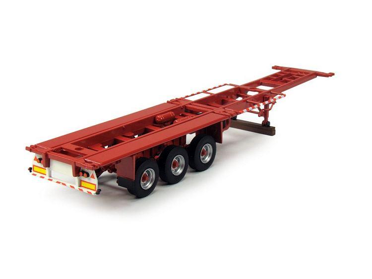 3 achse Klassik container semitrailer T.B.