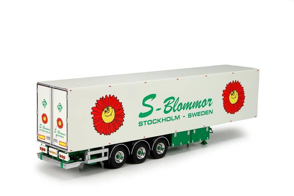 3 axle reefer trailer Hansen Steen