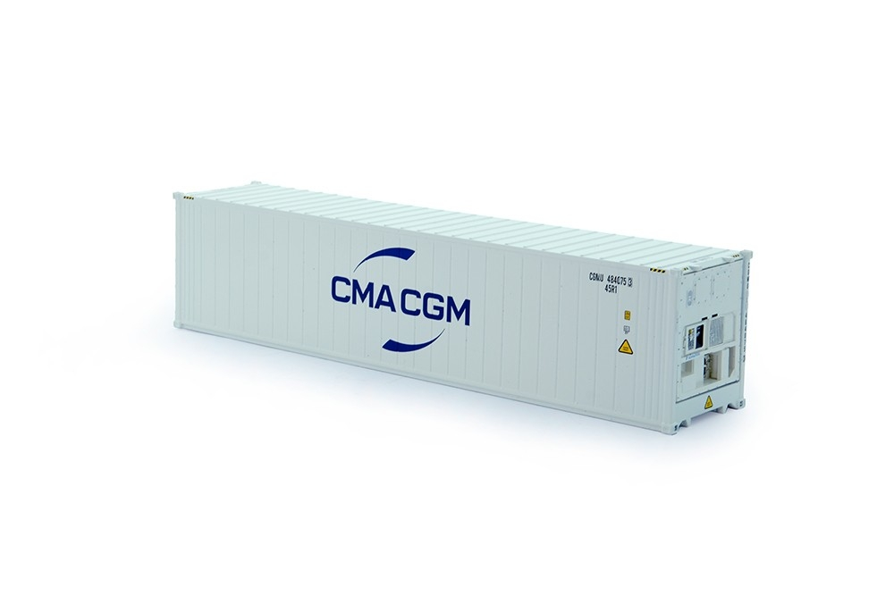 40 ft. High cube reefer Container  Daikin CMA CGM