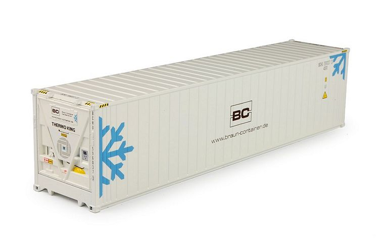 40ft Braun Kühl container