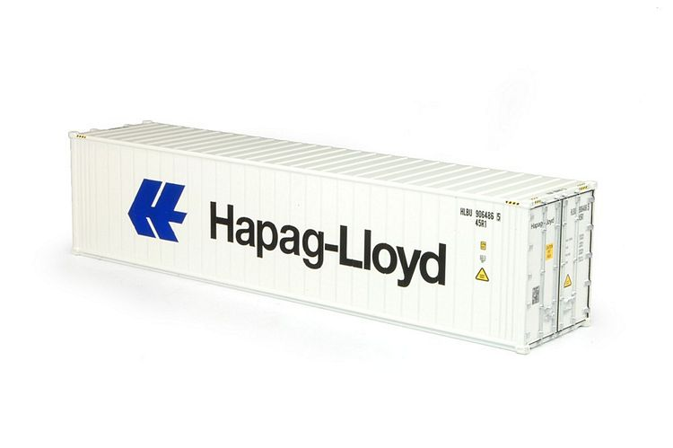 40ft. Kuhl container T.B. Hapag Lloyd