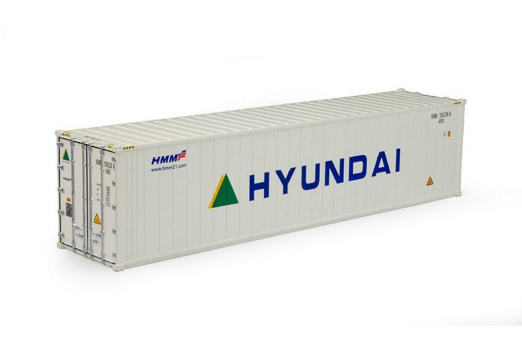 40ft reefer container Hyundai T.B.
