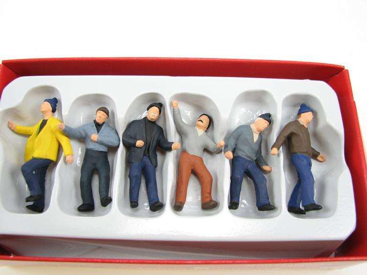 Arbeiter Miniaturfiguren