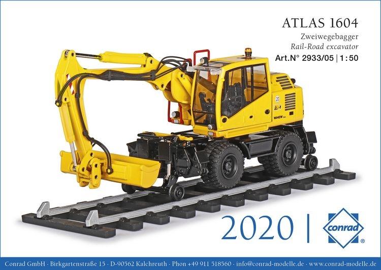 ATLAS 1604ZW neuem Oberwagen