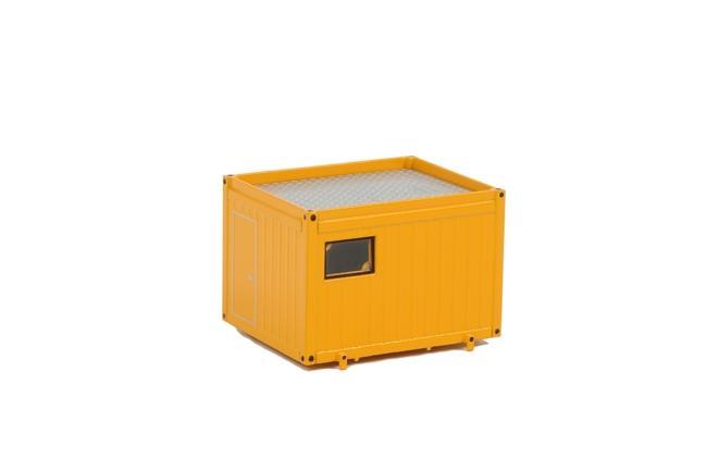 Ballasttrailer Container gelb