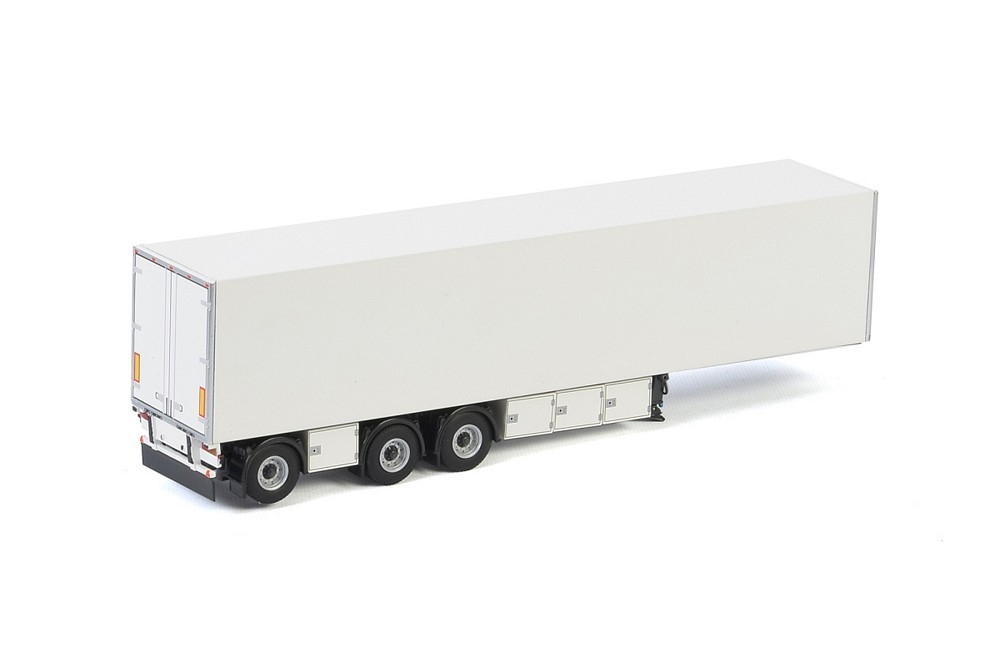 Box Trailer 3 axle  White Line