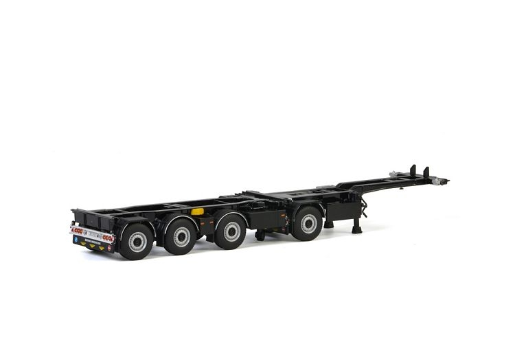 Broshuis 2Connect Combi Trailer 1+3 axle White Line