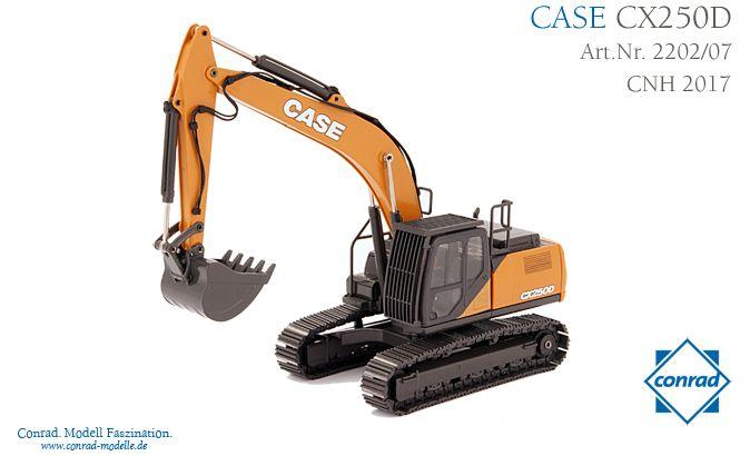 Case CX 250D Raupenbagger