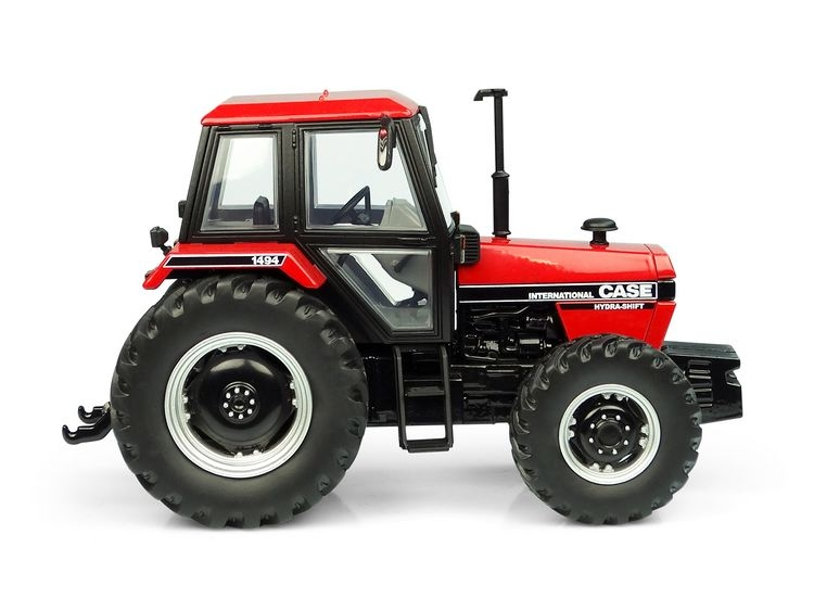 Case International 1494 4WD red black