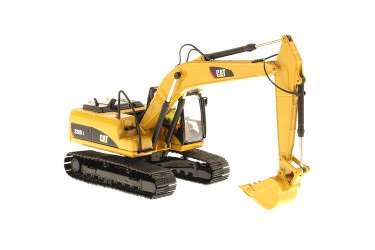 Cat 320d L Excavator Diecast Masters 1 50 Dm 85214 1
