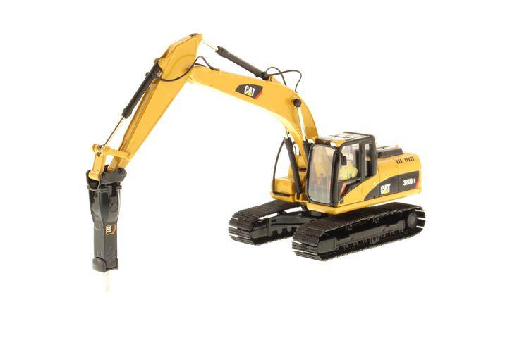 Cat 320D L Excavator Hammer
