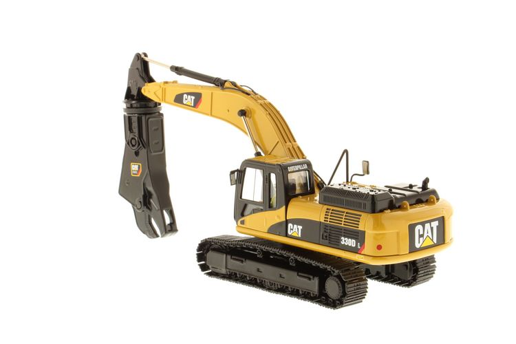 Cat 330d L Hydraulic Excavator W Shear Diecast Masters 1
