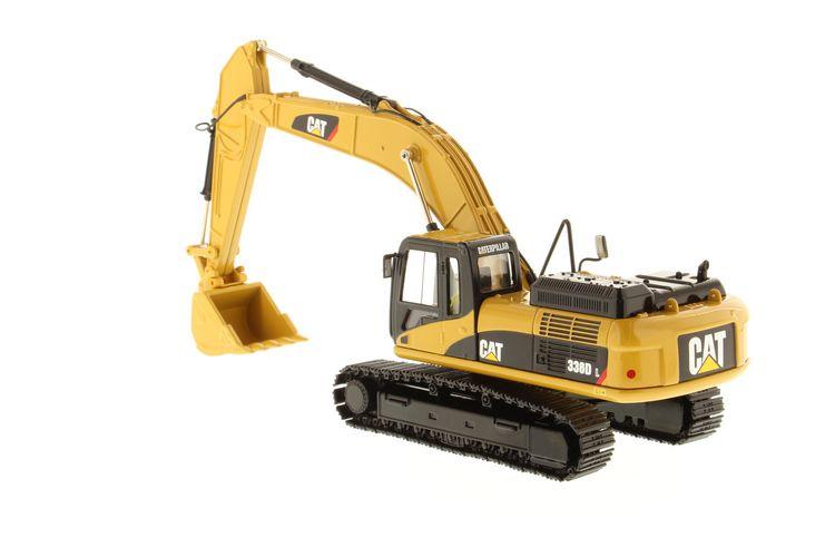 Cat 336d L Hydraulic Excavator Diecast Masters 1 50 Dm 85241 1