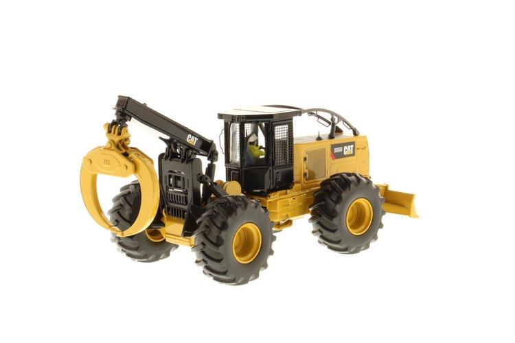 Cat 555D Skidder