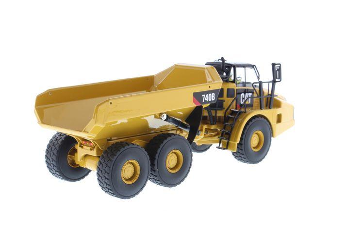 Cat 740b Articulated Tipper Diecast Masters 1 50 Dm 85501 1