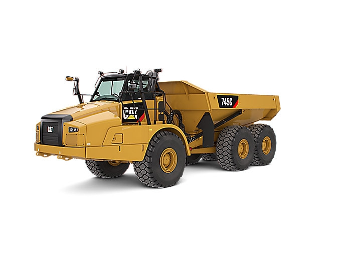 CAT 745 Muldenkipper
