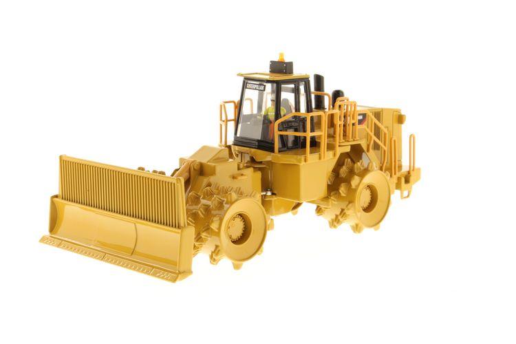 Cat 836H Landfill Compactor 1:50