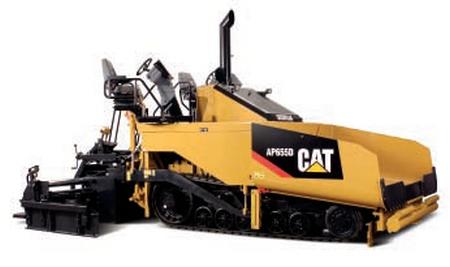 Cat AP655D Asphlt Paver  -