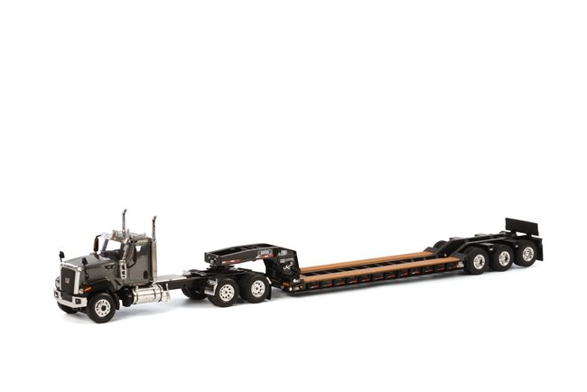 Cat CT680 6x4 Grey Rogers Lowboy  Black
