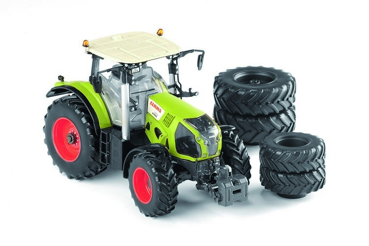 Claas Axion 870 8 wheels