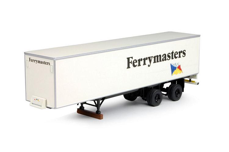 Classic box semitrailer Ferrymasters
